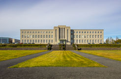 University of Iceland. The University of Iceland Main Building  is the central building of the University of Iceland campus in Reykjavik, Iceland. It was Royalty Free Stock Images