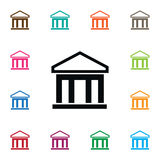 University Icon. Financial Vector Element Can Be Used For University, Bank, Financial Design Concept. Financial Vector Element Can Be Used For University, Bank Royalty Free Stock Photography