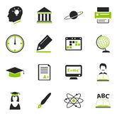 University icons set. University simply icons for web and user interfaces Royalty Free Stock Photography