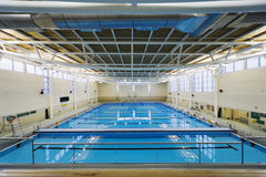 University indoor swimming pool Stock Photography