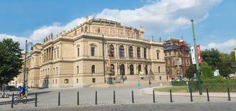 University Karlova v Praze - Prague - Czech Republic Royalty Free Stock Photo