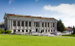 University Library. BERKELEY, CA/USA - The University Library on the campus of the University of California, Berkeley is the fourth largest University library in royalty free stock image