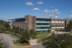 University Library. JACKSONVILLE, FLORIDA, USA - NOVEMBER 23, 2013: The Thomas G. Carpenter Library at the University of North Florida. The Library has 300 Stock Image