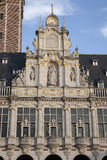 University Library of Leuven. Belgium stock images