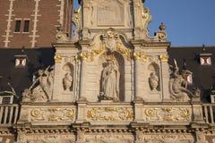 University Library of Leuven. Belgium stock photos