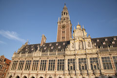 University Library of Leuven Stock Photography