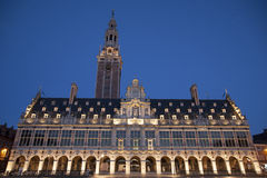 University Library of Leuven Royalty Free Stock Photography