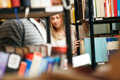 University library Royalty Free Stock Images