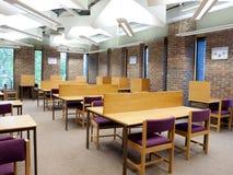 University library study area Royalty Free Stock Photos