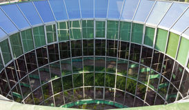 Half Round Glass Building Royalty Free Stock Photos