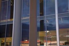 University libray window Royalty Free Stock Photo