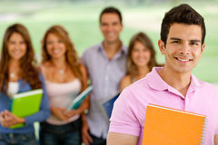 University male student Royalty Free Stock Photography