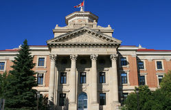 The university of Manitoba Stock Photo