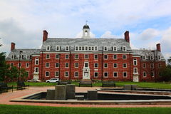 University of Maryland Campus Building Royalty Free Stock Images