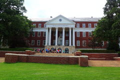 University of Maryland McKeldin Library. The Main Library at University of Maryland, College Park, a state public university at Maryland, United States stock photography