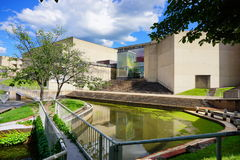 University of Massachusetts Amherst. Campus building royalty free stock photography