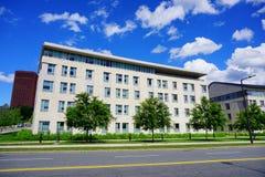University of Massachusetts Amherst. Campus building stock photos