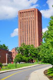 University of Massachusetts Amherst. Campus landscape stock photo