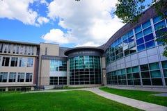 University of Massachusetts Amherst. Campus landscape royalty free stock image