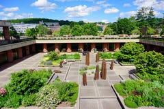 University of Massachusetts Amherst. Campus landscape royalty free stock photography