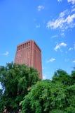 University of Massachusetts Amherst library. University of Massachusetts Amherst campus landscape royalty free stock photos