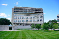 University of Massachusetts Amherst. Campus building stock images