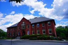 University of Massachusetts Amherst. Campus building royalty free stock photos