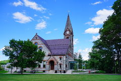 University of Massachusetts Amherst. Campus landscape royalty free stock images