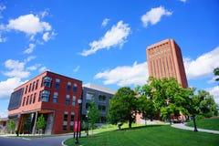 University of Massachusetts Amherst. Campus landscape stock image