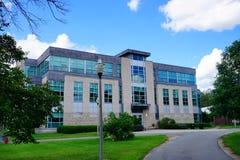 University of Massachusetts Amherst. Campus landscape stock images