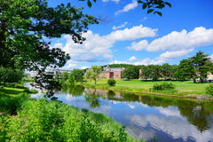 University of Massachusetts Amherst royalty free stock photography