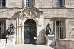 University of Medicine  on Montpellier Stock Photography