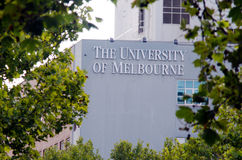 University of Melbourne Royalty Free Stock Photos