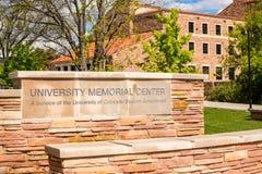 University Memorial Center Stock Image