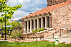 University Memorial Center Royalty Free Stock Photos