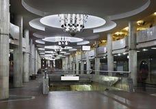 University metro station in Kharkov. Ukraine Stock Image