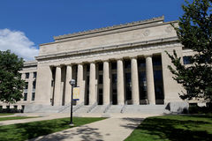 University of Michigan. Classical style building in Ann Arbor Royalty Free Stock Images