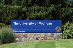 The University of Michigan Royalty Free Stock Photography