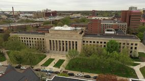 University of Michigan College of Literature, Science, and the Arts Ann Arbor Aerial view