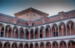University of Milan stock photo