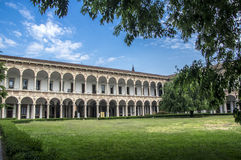 The University of Milan stock photography