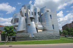 University of Minnesota Art Museum. Minneapolis, MN-A picture of the University of Minnesota Art Museum. June 17, 2008 Royalty Free Stock Photo