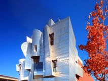 University of Minnesota Art Museum. Weisman Art Museum University of Minnesota Campus Royalty Free Stock Photography