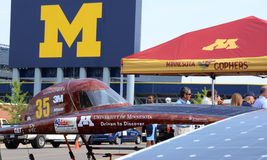 University of Minnesota solar car Stock Photos