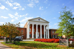 University of Mississippi building. Taken in oxford, MS Stock Image