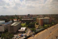 University of Nairobi. Aerial view of Nairobi University Stock Photo