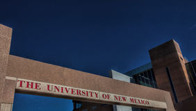 The University of New Mexico in Albuquerque Stock Images