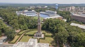 University Of North Carolina At Chapel Hill. Kenan Memorial Stadium is located in Chapel Hill, North Carolina and is the home field of the North Carolina Tar stock images