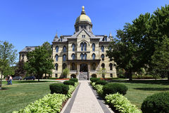 University of Notre Dame Campus Royalty Free Stock Photo