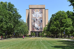 University of Notre Dame Campus Royalty Free Stock Images